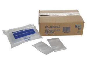 RELOC ZIPPIT WR23 Reclosable Bag, 2in.L, 3in.W, 2 mil, PK1000