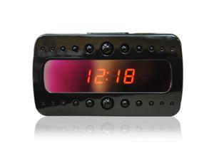 V26 IR Clock Camera  HD 1080P RF Night Vision Alarm Clock Mini DVR Recorder With Motion Detection Remote Control 5MP Camera