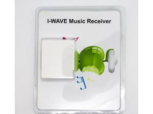 Bluetooth Music Receiver I-WAVE Wireless Bluetooth A2DP Music Audio Receiver Adapter for iPhone iPad Smart Phones PC Computer 30 Pin Dock Speaker