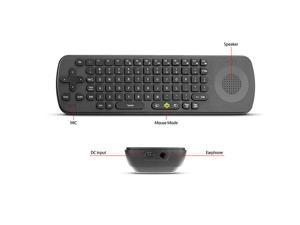 Measy RC13Fly Air Mouse Keyboard Wireless Bidirectional Voice Mic Speaker Remote Control For Smart TV Notebook PC Tablet MID Android TV Box HTPC