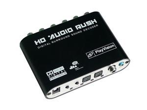 New SPDIF Coaxial to 5.1/2.1 Channel AC3/DTS Audio Decoder Gear Surround Sound Rush for PS3,STB, DVD