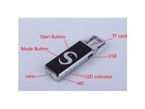 AT007 Alloy U disk Camera Disk HD Hidden Spy Camera HD 1280x720P Motion Detector Video Recorder