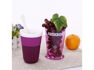 New Zoku fruit juice smoothie cup DIY milkshake cup ice cream machine fruit smoothie cup