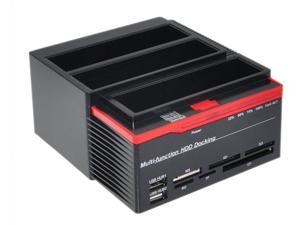 "Multi-Function 2.5""/3.5"" 2x SATA 1x IDE HDD Docking Station Clone USB 2.0 HUB WLX-893U2IS"