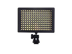 160 LED Camera Video Light Lamp Panel 9.6W Dimmable for Canon Nikon Pentax DSLR Camera Video Camcorder