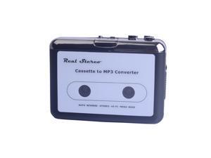 USB Stereo Cassette Capture Cassette to MP3 Converter Capture Audio Music Player EC007B
