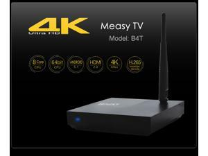 Measy B4T Android 5.1 TV Box RK3368 Octa-core WiFi H.265 4K 1GB/8GB XBMC TV Receiver Smart TV Media Player BT4.0