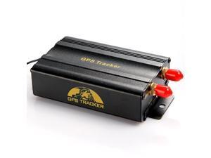 TK103B Vehicle/Car GPS Tracker + Remote Control GPS103B Car Alarm Quad-band Support SD Card Slot