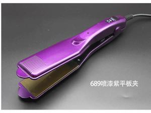 Purple Straight Hair Iron 4 File Adjustable Temperature Straightening Irons High Quality Salon Hair Straightener YLG-689