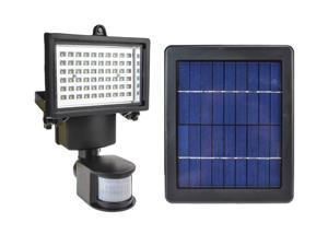 Solar Ultra Bright 240 Lumens 60 LEDs Motion Sensor Security Light Flood Lamp Outdoor Garden Spotlights SL-60