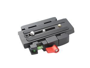 Camera Quick Release Assembly and Sliding Plate Mount P200 Compat Manfrotto 501/500AH/701HDV/503HDV/Q5/577