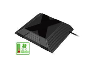 USB Auto-sensing External Intercooler Temperature Control Cooling Fan for Game Consoles Microsoft XBOX ONE PG-X010