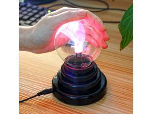 "3.5"" Plasma Light LED Lights Electronic Magic Ball USB Plasma Ball Lights Vogue Magic Plasma"