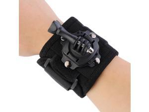 360 Degree Rotation Glove Style Wrist Hand Band Mount Strap for GoPro Hero 3 3+