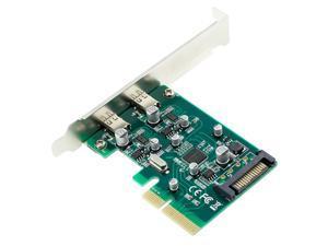 Desktop USB 3.1 Type-C Port PCI-E Controller Card PCI Express 4X to USB3.1 Type C Converter Adapter