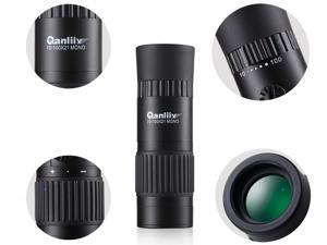 10-100x21 Pocket Size Mini Hd Telescope Monocular for Travel Sport Scenery Wildlife View Objective Lens