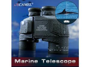 USCAMEL with 10x50 Binoculars At High Magnification HD Waterproof Type 62 Retro Perspective Range Finder