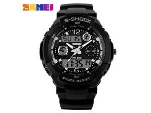 Men Quartz Digital Watch Men Sports Watches Relogio Masculino SKMEI S Shock Relojes LED Military Waterproof Wristwatches