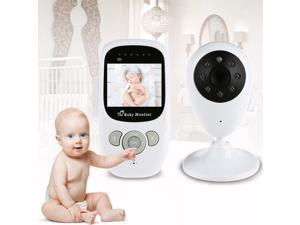 Baby Security Camera Wireless Video Monitor with Night Vision Camera Two-way Talk 2.4 Inch Baby Sleep Monitor with Camera