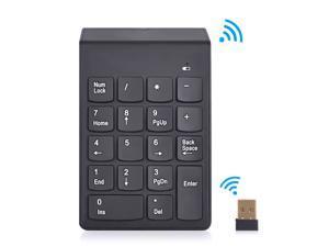 2.4G USB Numeric Keypad 18Keys Wireless Keyboard Mini Digital Keyboard High Quality Number Pad Ultra Slim For Compute PC Laptop