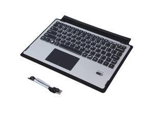 For Microsoft Surface 3 10.8'' Tablet Ultrathin Portable Aluminum Alloy  Bluetooth Keyboard Touchpad Case