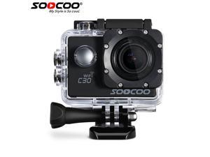 SOOCOO C30 NTK96660 4K Wifi Action Camera Gyro Diving 20MP 1080P/60FPS Full HD Waterproof Action Cam