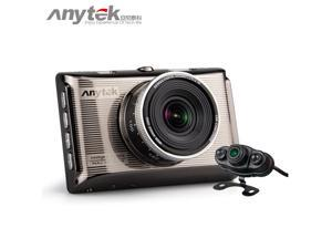 Anytek X6 1080P Full HD Car Camera Novatek 96650 Car DVR Dual Lens Camara Dashcam Video Recorder