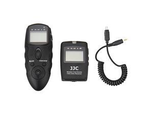 JJC WT-868+CABLE-J Wireless Multifunction LCD Timer Remote Control For Olympus OM-D E-M5II E-M10 E-M1 E-M5 E-PL6 E-PL7 STYLUS SH-1 E-P5 STYLUS 1 SP-590 UZ as RM-UC1