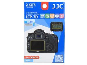 JJC LCP-7D Guard Film Digital Camera LCD Screen Protector For Canon EOS 7D