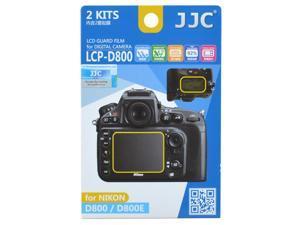 JJC LCP-D800 2 Kits Guard Film Digital Camera LCD Display Screen Protector Cover For Nikon D800 D800E