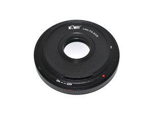 KIWI LMA-FD_EOS Lens Mount Adapter For Canon FD Lens To Canon EOS 60D 70D 60Da 6D 7D 5D Mark II III 700D 650D 600D 550D 500D 1200D 1100D 100D 1000D Mount Camera