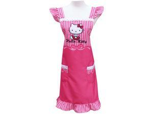Sanrio Hello Kitty Cooking Craft Apron Adult Rare Lace Pink