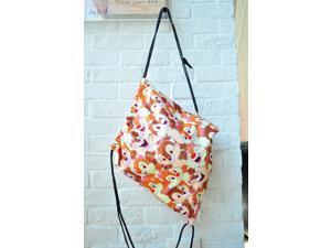 Disney Chip Dale Full Figure Type Drawstring Backpack Rucksack School Bag