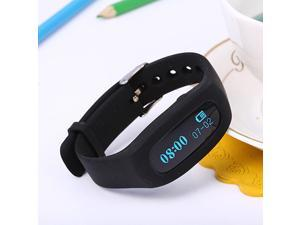 Silicone Waterproof Smart Wristband Bluetooth 4.0 Fitness Tracker Bracelet With LED Screen Support IOS 6.0 Andriod 4.3