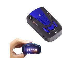 360-Degree Car Speed Radar Detector Voice Alert Detection Shaped Safety for Car GPS Laser LED