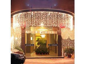 LED Light Strip Meteor Shower Rain Tube Snowfall LED Strip Light White Outdoor Decoration LED Light christmas lights 1000Leds Light 110V