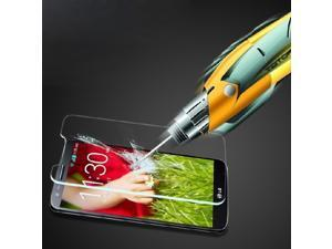0.3mm 2.5D 9H Proof Tempered Glass Screen Protector Film Cover & Free Cloth For LG Optimus G2 / D801 D802 + Retail Package