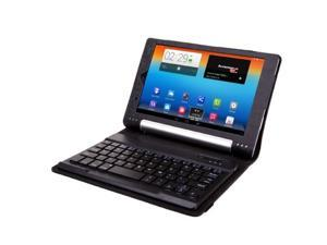2in1 Removeble PU Leather Wireless Bluetooth3.0 Keyboard with  Case Cover For Lenovo B6000 8""