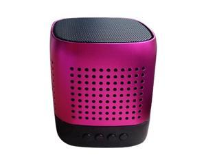 "Sungale ""Magic Cube"" Portable Stereo Bluetooth Speaker with microphone and multi-function(SBK007)"
