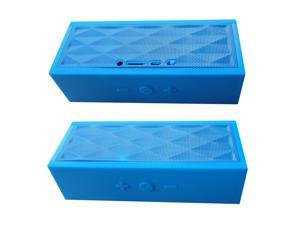 Bluetooth speaker, phone conversation, Water Cube style, built-in microphone, connectable with various media and mobile devices, Powerful speaker, amazing sound quality