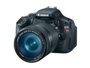 Canon EOS Rebel T3i 600D SLR Camera Body + EF-S 18-135mm IS + EF-S 75-300mm Lens