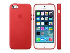 Original Apple Genuine Leather iPhone 5 & 5s Slim Case Protective Cover - MF046LL/A