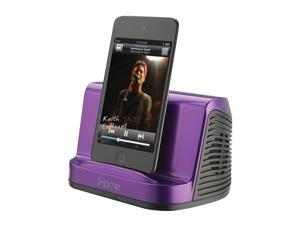 iHome iHM16 Portable Stereo Speaker System for iPad iPod Touch & MP3 Player - Purple