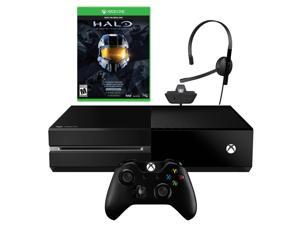 Microsoft Xbox One 500GB HD Blu-Ray Player, Next Gen Console Bundle - Wireless Controller with Halo Master Chief Collection Game (Kinect Not Included)