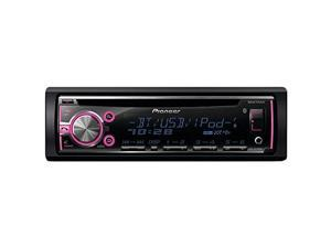 Pioneer DEH-X6710BT Single CD Receiver with Built-In Bluetooth Graphic Equalizer