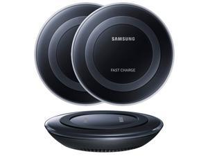 Samsung Fast Charging Pad for Galaxy Devices & Qi Compatible Smartphones Black - 2PK