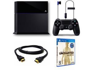Sony 3001169 PlayStation 4 500GB Uncharted - The Nathan Drake Collection Game Bundle