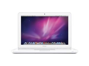 "Apple Macbook 13.3"" Display Upgraded 4GB Ram 250GB Hard Drive Notebook - White - MC207LL/A"