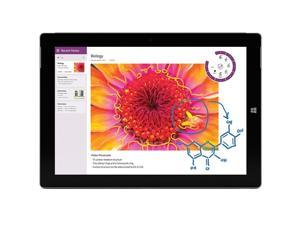 "Microsoft 10.8"" Surface 3 Multi-Touch Tablet 64GB HD, Wi-Fi-Silver (7G5-00015)"