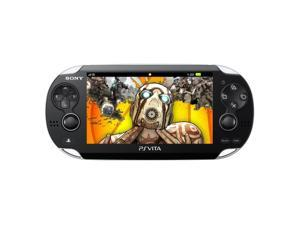 Sony PlayStation Vita Handheld Remote Play Gaming Console Bundle Black 3000726